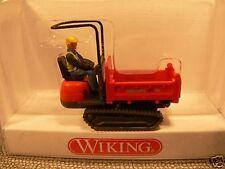 1/87 Wiking Track Cassone Neuson ROSSO 669 01