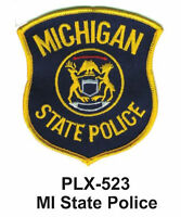 Mi State Police (state Police) Embroidered Patches 4