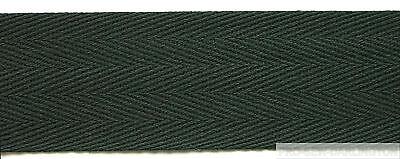 COTTON HERRINGBONE APRON TAPE ( CHOICE OF COLOUR & SIZES )