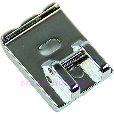 Metal Universal Double Welting Piping Cording Foot For Singer Brother Janome