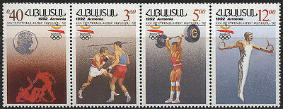 Armenien 199-202 Olympiade Barcelona * * (17163) Katalognummern Nach Michel-kata Wasserdicht, StoßFest Und Antimagnetisch
