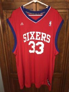 d1ae7d6105de Image is loading Adidas-Philadelphia-76ers-Sixers-NBA-Basketball-Andrew- Bynum- · NIKE Team USA Soccer Mens ...