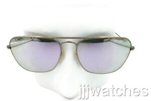03cf3cdbbe3 New Ray Ban Caravan Bronze-Copper Lilac Mirror Sunglasses RB3136 167 ...