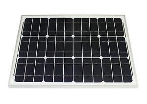 Solarmodul-30-Watt-mono-Solarpanel-Photovoltaik-Solarzelle-TUV-Zertifikat