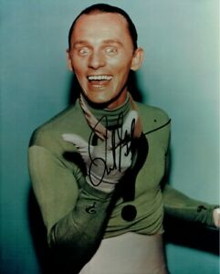 Frank-Gorshin-Signed-Autographed-8x10-Photo-The-Riddler-Batman-Big-Smile-JSA