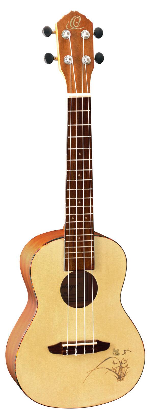 Ideal für unterwegs! Wunderschöne Ortega Konzert Ukulele aus Sapele in Natur