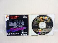 SNATCHER CD ROMANTIC PILOT DISK PC-Engine SCD Konami Import JAPAN Game Grafx pe