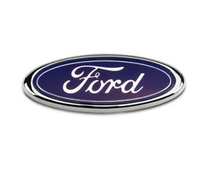 Ford-Transit-Connect-Rear-Door-Badge-115MM-x-45MM-Blue-Chrome-Fiesta-Mondeo-FR1