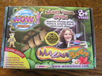 Smithworks Wow Science Make Your Own Magna Bugs Strategy Games Jumping Bugsnib