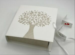 Bomboniere Matrimonio Meno Di 10 Euro.10 Book Libro Bomboniera Porta Confetti Albero Della Vita Matrimonio