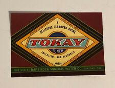SOLARIS Vintage New Orleans Breakfast Tea Label *AN ORIGINAL 1920/'s LABEL* 503