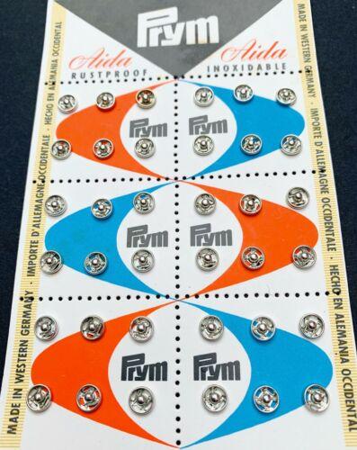 SNAPS 8mm or 6mm 1.3cm 36 Vintage PRESS STUDS