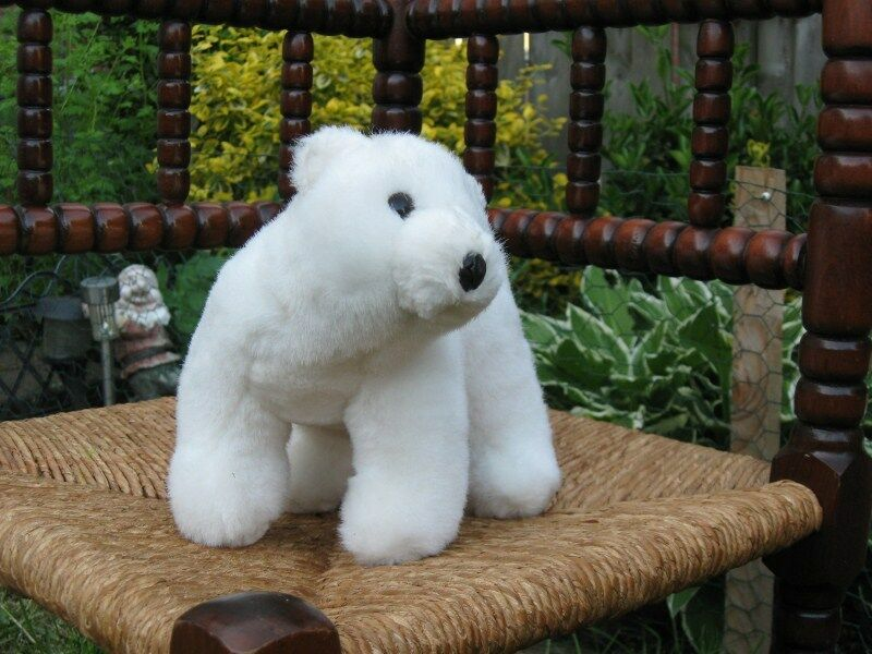 Standing Polar Bear Plush by Kaemingk Plush Toys Holland L20010