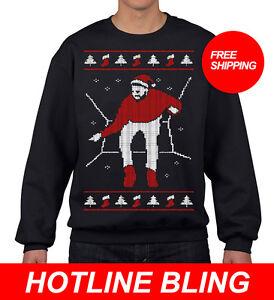 image is loading drake hotline bling ugly christmas sweater - Ugly Christmas Sweater Ebay