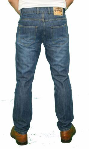 DeMina NEW MENS STRAIGHT LEG DRESS JEANS FASHION JEANS ZIP FLY 28-42 SIMON