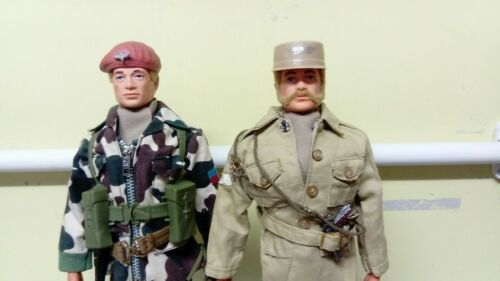 Vintage Action Man Ready Made Scarves Sand