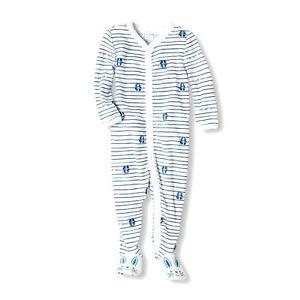 TCP 1PC PREEMIE NEWBORN BABY BOY MADE WITH LOVE BUNNY RABBIT COVERALL OUTFIT