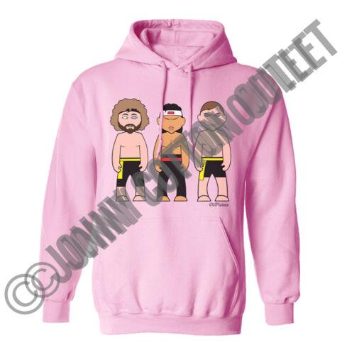 VIPwees Unisex Hoodie Fight Movie Inspired Caricatures Choose Your Design Hoody