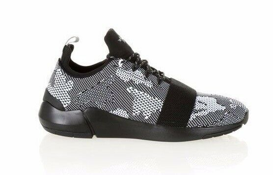 CREATIVE RECREATION CR0470026 CERONI Mn's (M) noir Knitted Athletic Chaussures