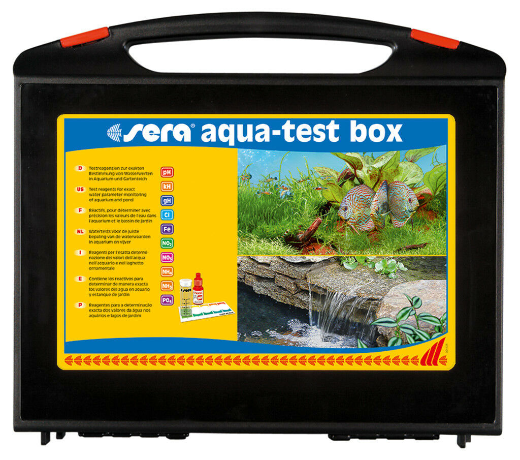 Sera aqua-test box (+ CL), 1 St.