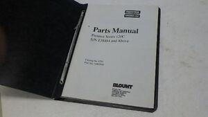 PRENTICE HYDRO-AX 120C PARTS MANUAL Ci279 | eBay