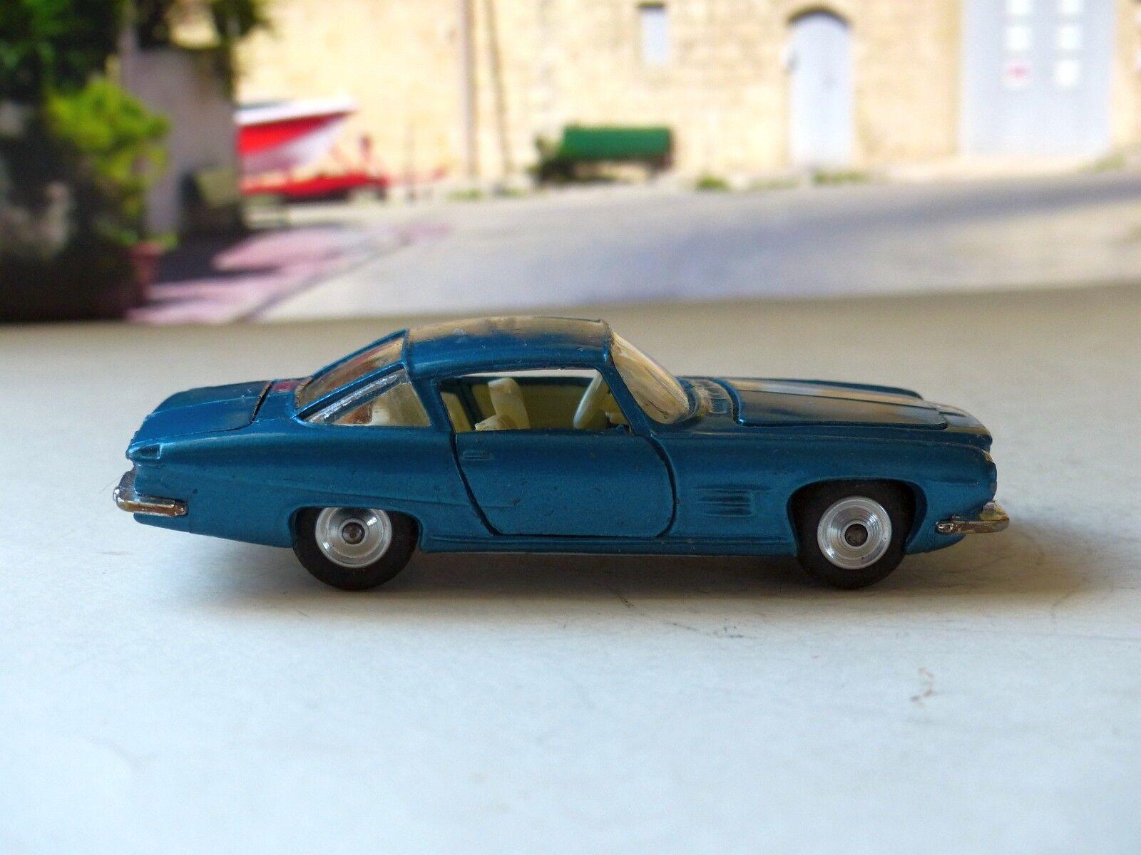 Corgi Corgi Corgi Toys 241 Ghia L6.4 en azul metálico y crema con Caja Original e5a330
