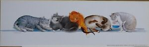 034-CATNAP-034-by-Valerie-M-Pfeiffer-5-Sleeping-Cats-to-Delight-you