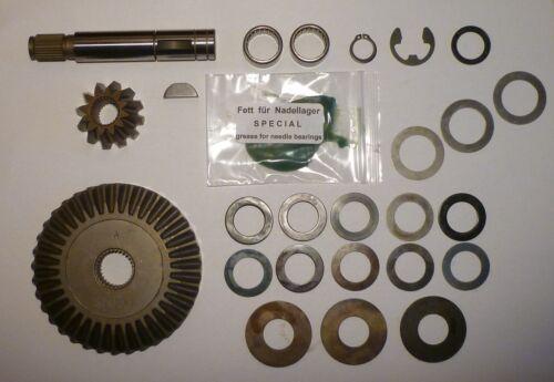 Original Teilesatz Ritzelsatz komplett Dana Spicer Foote Getriebe Rasentraktor