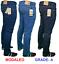 Mens-Straight-Leg-Basic-Heavy-Work-Jeans-Denim-Pants-W34-W36-W38-L31-MODALEO-UK thumbnail 2