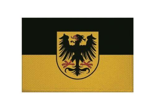 Ricamate Arnstadt bandiera bandiera aufbügler Patch 9 x 6 cm