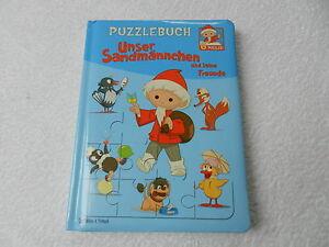 Puzzlebuch-034-Unser-Sandmaennchen-und-seine-Freunde-034-alles-komplett