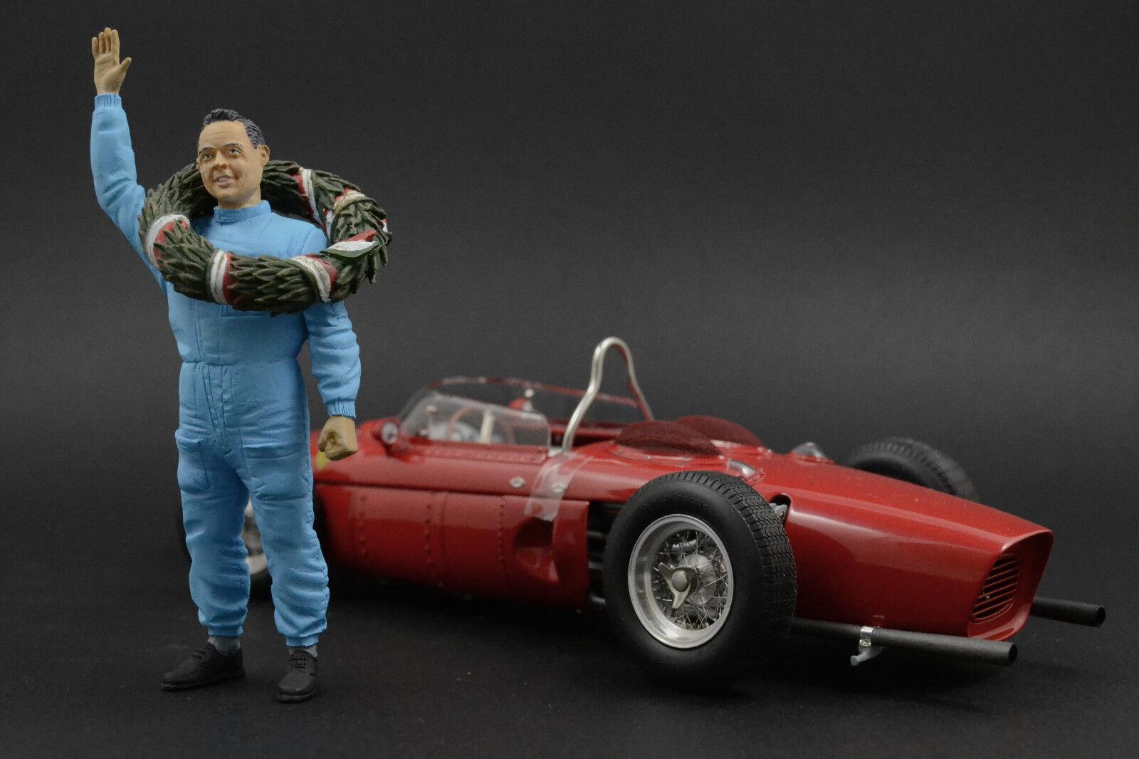 Phil Phil Phil Hill Figura per 1 18 Ferrari 156 CMC ff10ca
