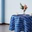miniature 9 - Imperméable Nappe Home Table de salle à manger Protecteur Rond/Rectangulaire Table Housse