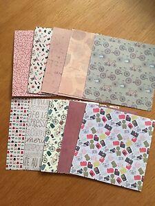 """""""hippie Chic"""" 6x Papier 6 In (environ 15.24 Cm) Pack - 10 Feuilles-sample Pack-afficher Le Titre D'origine Facile Et Simple à Manipuler"""
