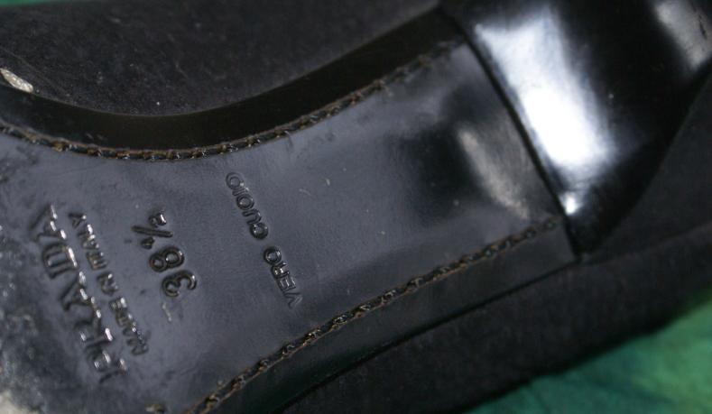 PRADA Pumps Echtleder Velourleder schwarz 38,5 Gr. 38,5 schwarz / UK 5,5 Original TOP e617bc