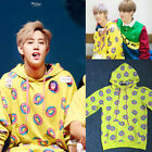 Kpop GOT7 Mark Just Right Cap Hoodie Sweater BTS Jung Kook Sweatershirt Coat