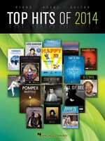 Top Hits Of 2014 Sheet Music Piano Vocal Guitar Songbook 000137781