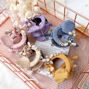 Women-039-s-Rhinestone-Hair-Clips-Claws-Hairpins-Barrettes-Pearl-Hair-accessories