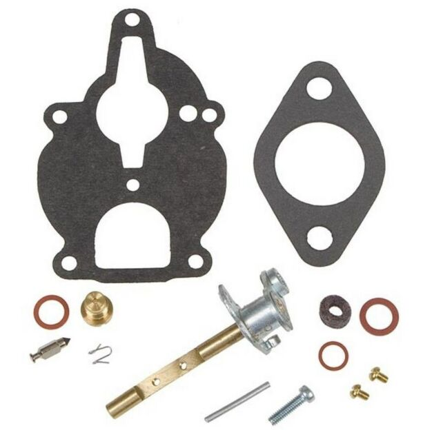 Zenith Carburetor Rebuild Kit For Farmall-IH Tractor with C123 Engines 130 140