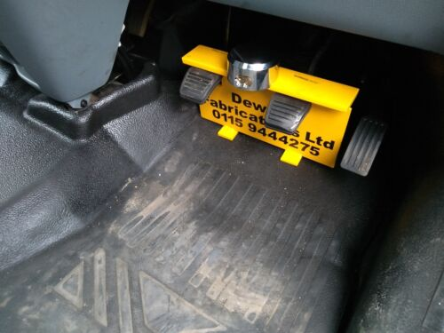 FORD TRANSIT CUSTOM PEDAL SECURITY LOCK including LOCK QUICK EASY FIT