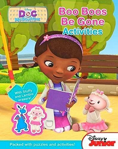 Doc McStuffins - Boo Boos Be Gone Activities Book