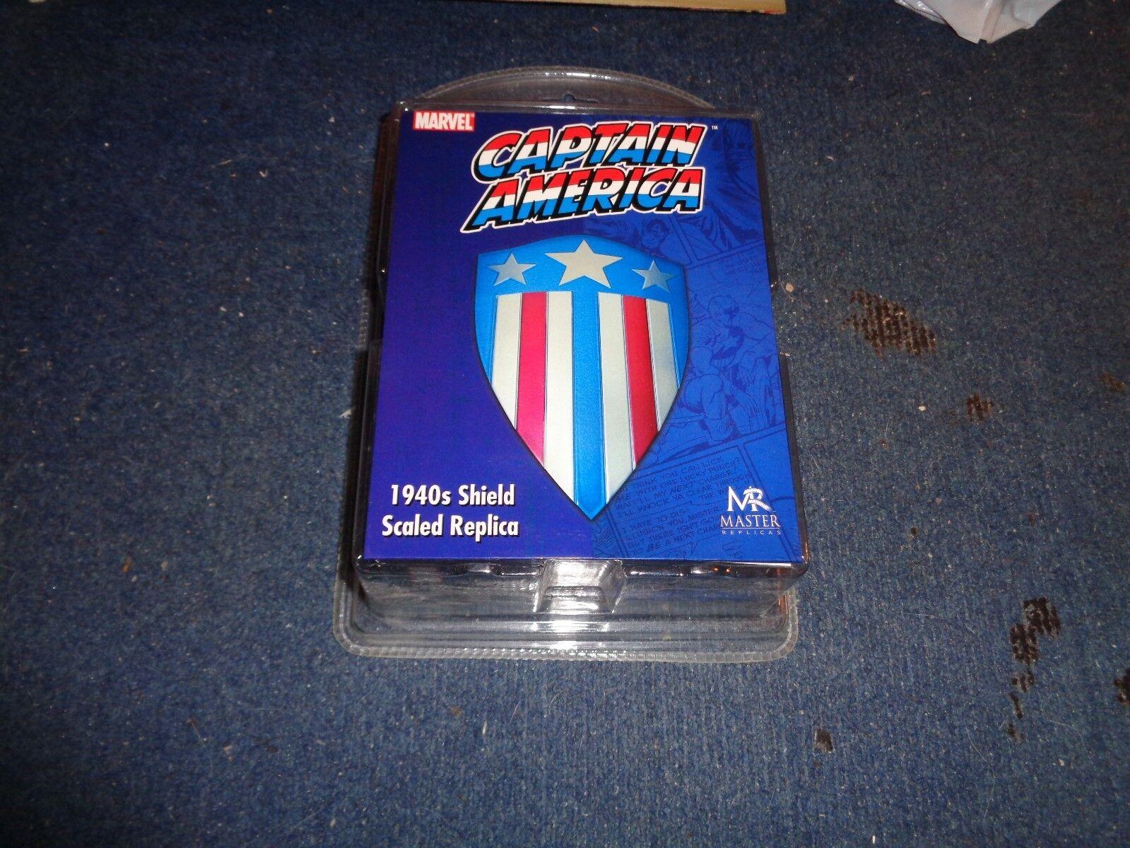 Captain America 1940s Shield Replica New MIP