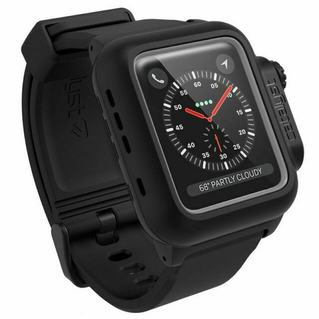 Catalyst Water Proof Case For Apple Watch 42mm Series 3 Stealth Black For Sale Online Ebay