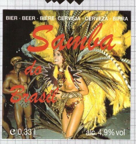 BELGIUM Brouwerij Huyghe SAMBA woman beer label C2295 003