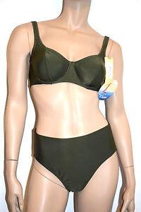 Capable Roger Franck Maillot Bain 2 P. Armature Taille 4-xl/fr44/eu42 Couleur Vert Fonce 100% D'Origine