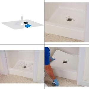 Details About L Shower Floor Repair Inlay Kit 22 In W X 40 Tub Base Fix Leak