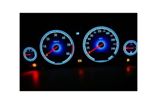 Opel Vectra C design 3 glow gauge plasma dials tachoscheibe glow shift indicator