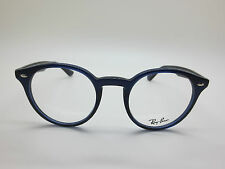 NEW Authentic Ray Ban RB 2180-V 2013 Blue 49mm RX Eyeglasses