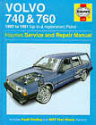 Volvo 740 and 760 (Petrol) 1982-91 Service and Repair Manual by Matthew Minter (Hardback, 1988)