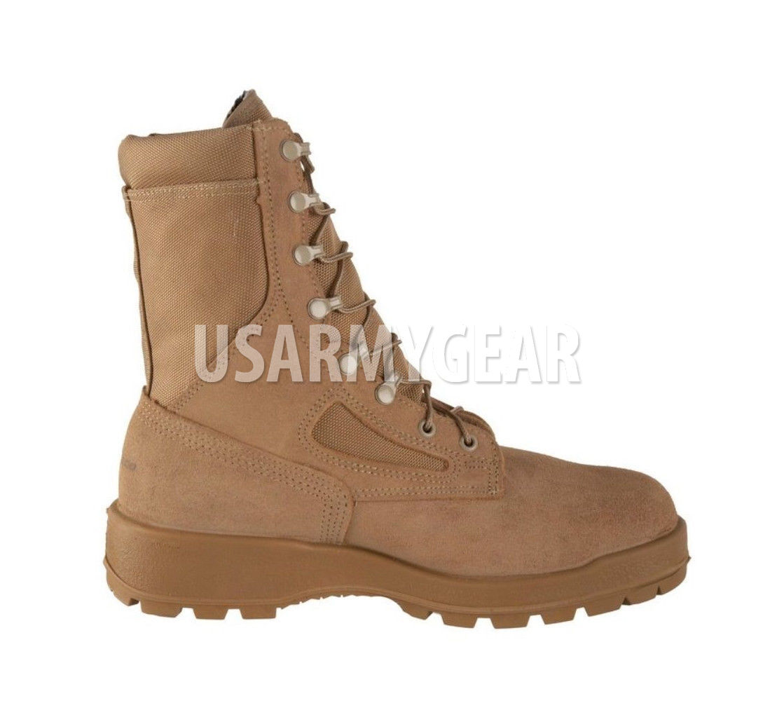 WELLCO Temperate FLAME RESISTANT ARMY COMBAT BOOT DESERT TAN BOOTS Temperate WELLCO ACB-HW 6 XW 77ad88
